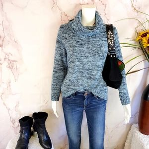 Macy's Style & Co pullover cowl neck sweater